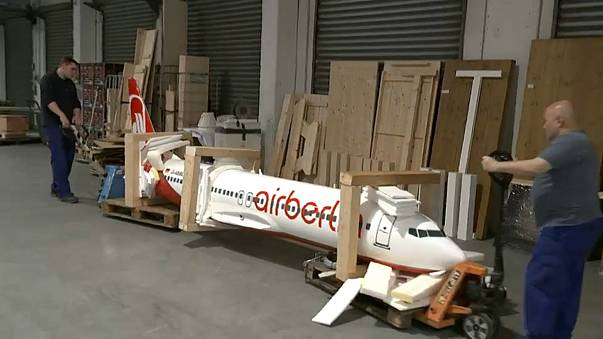 Air Berlin: аукцион предметов из самолетов