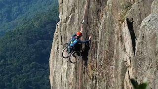 صخرهنوردی سوار بر ویلچر