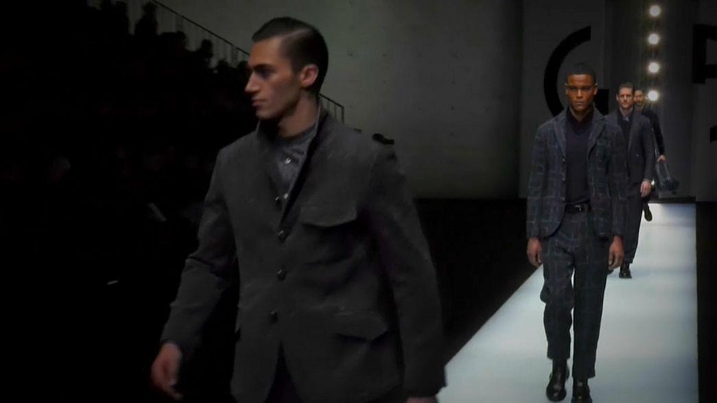 Emporio Armani na Semana da Moda de Milão