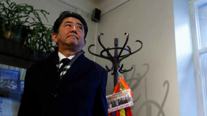 Shinzo Abe auf Osteuropa-Tour