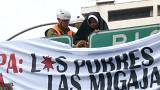 Protest gegen Papstbesuch in Chile