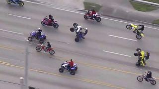 'Wheels Up, Guns Down' ride through Miami