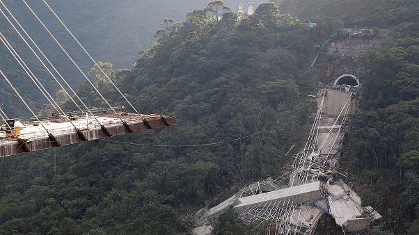 Mindestens 10 Tote bei Brückeneinsturz in Kolumbien