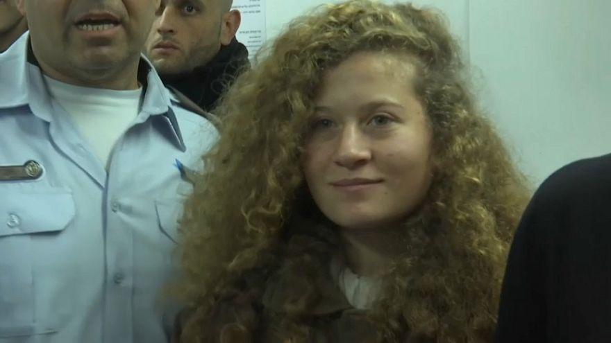 Davanti a una corte militare israliana la sedicenne palestinese Tamimi