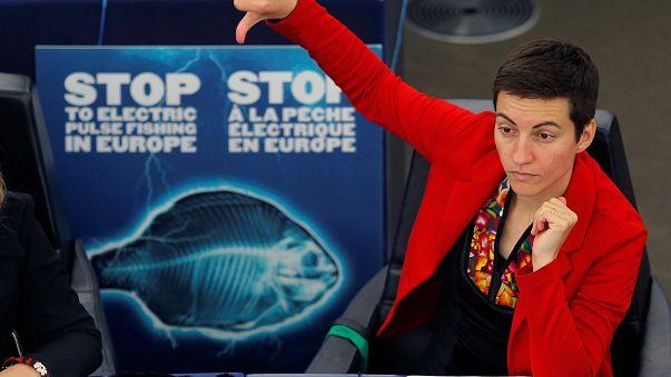 L'eurodéputée Ska Keller vote pour l'interdiction de la pêche électrique.