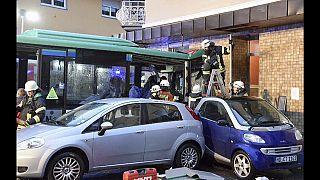 Accidente de un autobús escolar en Alemania