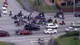 جانب من الحدث السنوي لسائقي الدراجات النارية في ميامي بالولايات المتحدة