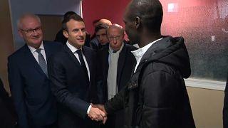 """Macron: """"Calais benzeri mülteci kampına izin vermeyeceğiz"""""""