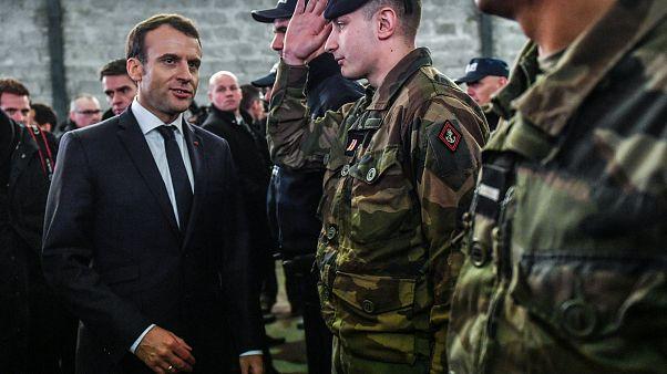 Macron: Unerbittliches Vorgehen gegen illegale Migration