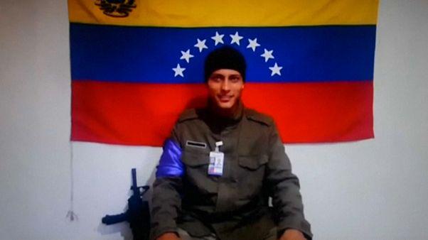File photo of rogue Venezuelan helicopter pilot Oscar Perez