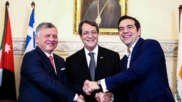 Στόχος της τριμερούς Κύπρου - Ελλάδας - Ιορδανία η στρατηγική και η περιφερειακή συνεργασία