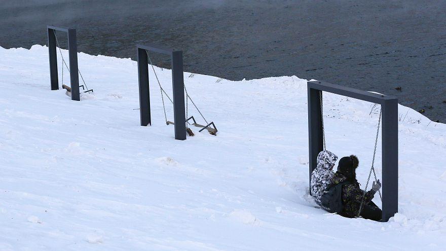 Арктический холод в Сибири и теплая зима в Москве