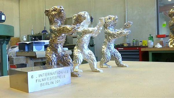 Berlin Film Festivali heykelcikleri hazır
