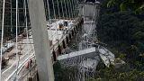 Трагедия в Колумбии: обрушился мост