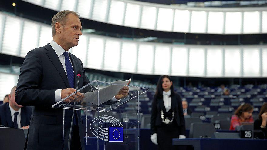 دعوت توسک از بریتانیا برای بازگشت دوباره به اتحادیه اروپا