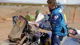 Dakar/motos : abandon du leader Adrien Van Beveren
