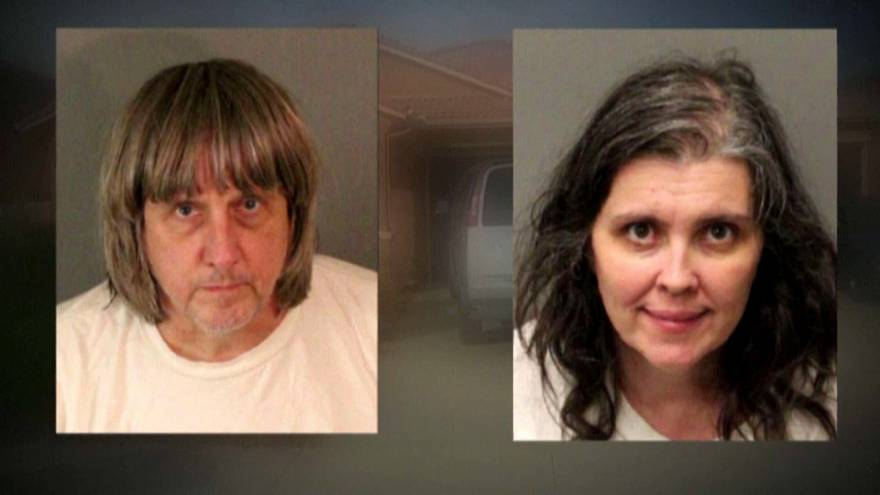 California couple charged with torturing their 13 children