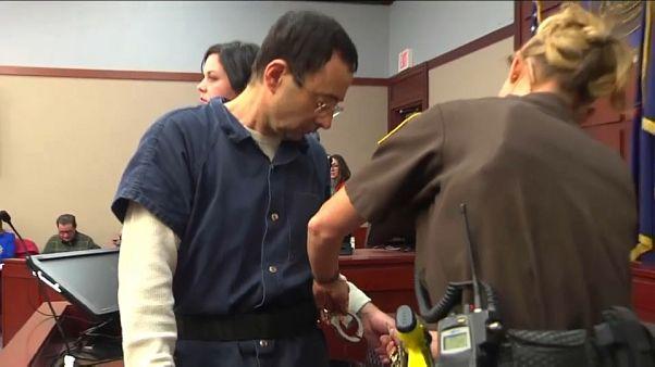 Sexual abuse victims confront 'repulsive' predator Larry Nassar