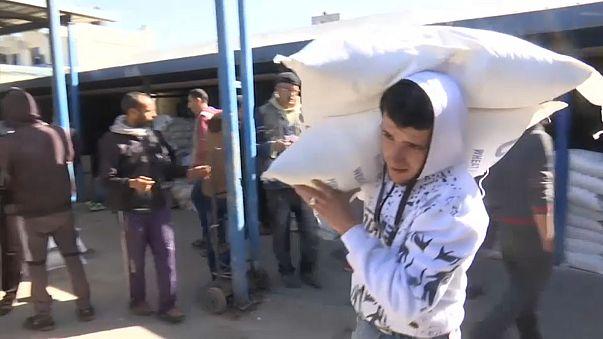 США сокращают помощь палестинцам