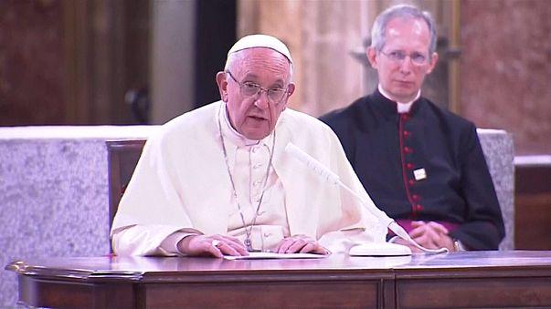 Папа римский в Чили: о боли и прощении