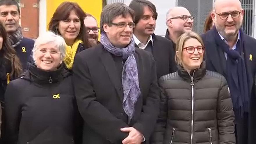 Acordo sobre Puigdemont para chefe de Governo