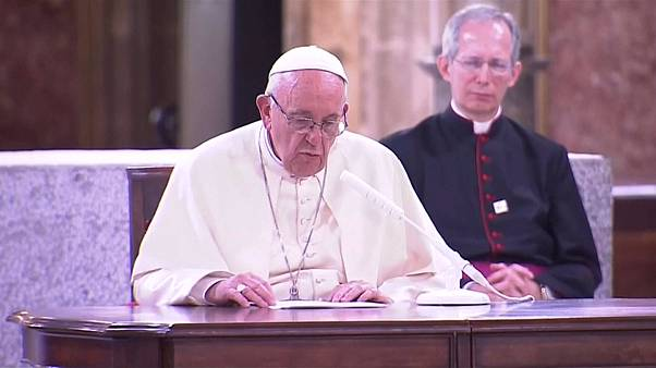 Pope speaks of 'shame' for clergy sex abuse