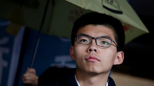 Hong Kong democracy leader Joshua Wong jailed for second time