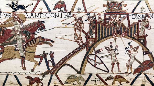 Bayeux Tapestry set for loan to UK after 950 years in France