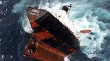 از کشتی سانچی تا پهنه خلیج فارس؛ بزرگترین آلودگیهای نفتی در دریا