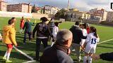 شجار عنيف بين لاعبات دوري الدرجة الثانية التركي لكرة القدم