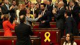 Roger Torrent, republicano de ERC, elegido presidente del Parlamento de Cataluña
