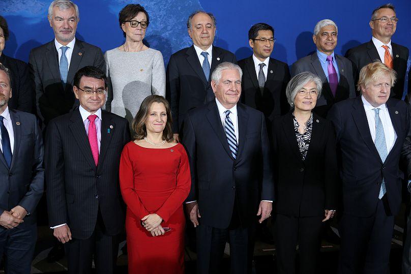 Foto de familia de la reunión de Vancouver
