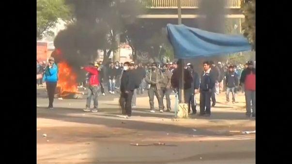 Aumentan las protestas en Bolivia