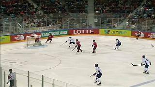 Une équipe intercoréenne de hockey?