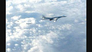 Britische Fighter-Jets fangen 2 russische Blackjack-Bomber über der Nordsee ab
