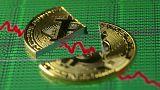 Le cours du bitcoin plonge