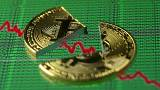 Queda recorde do preço da bitcoin nos mercados asiáticos
