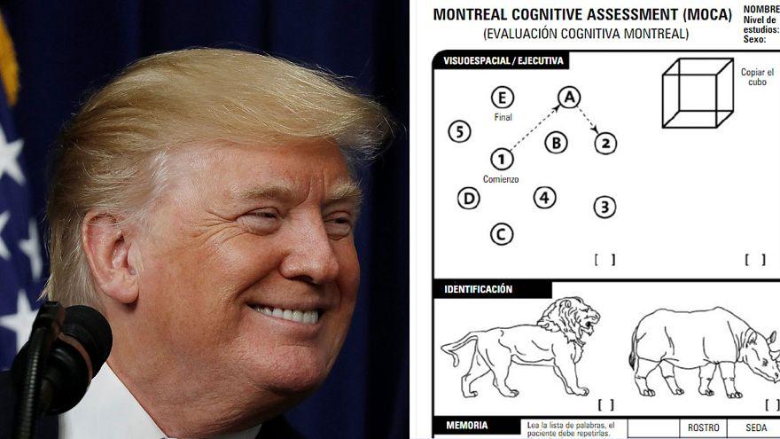 Laut Arztbericht ist der US-Präsident körperlich und geistig auf der Höhe