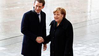 """""""Anschluss""""? 5 Tweets zum Besuch von Kanzler Kurz in Berlin"""