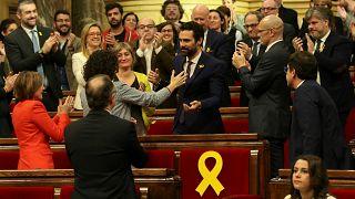 Katalonya'da meclis başkanlığına Torrent seçildi