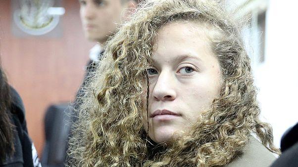 Israeli court detains 'slap video' Palestinian teenager Ahed Tamini until trial