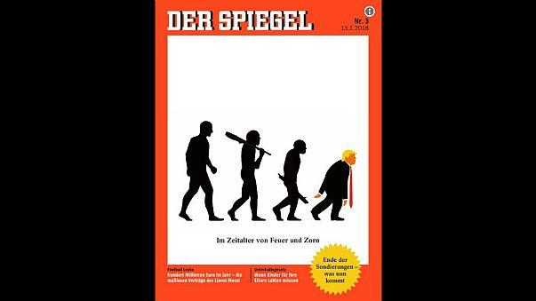 مجلة ألمانية تسخر من دونالد ترامب