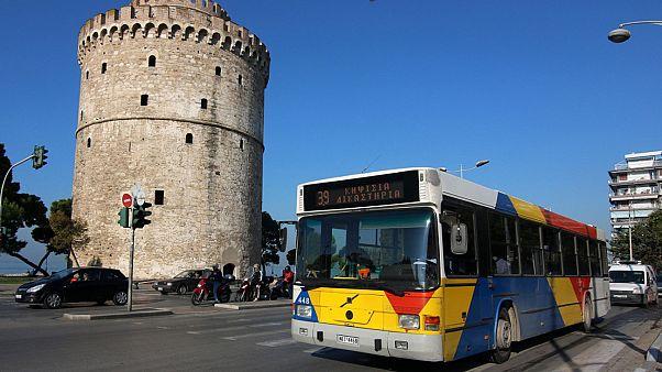 Θεσσαλονίκη: Αστικό λεωφορείο έμεινε εγκλωβισμένο για σχεδόν...10 ώρες!