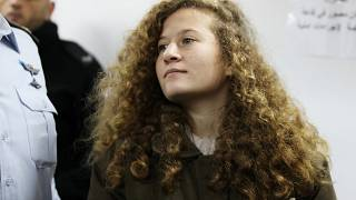 Ahed Tamimi am 15.01.2018