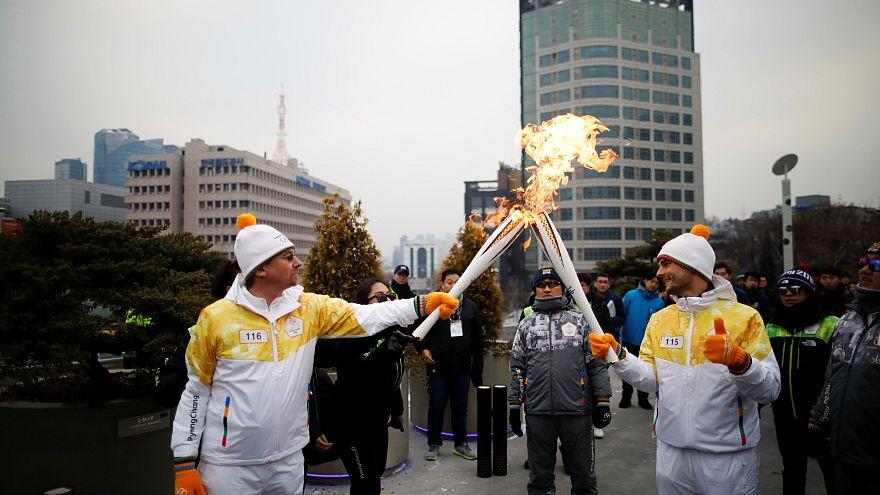 Две Кореи под единым флагом