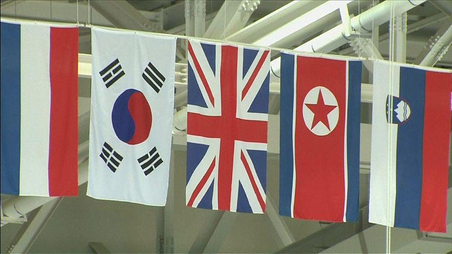 Güney ve Kuzey Kore'den olimpiyatlarda tek bayrak açılımı