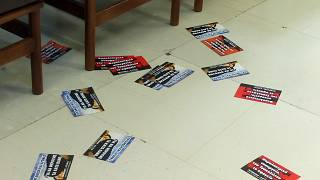 Εισβολή μελών του Ρουβίκωνα στο υπουργείο Οικονομικών - ΒΙΝΤΕΟ