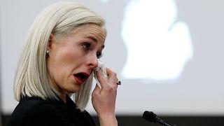 [VIDEO] Opfer von Missbrauch im US-Turnen sagen gegen Teamarzt aus