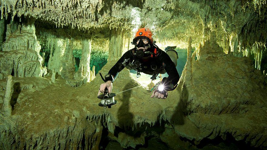 Le meravigliose cave subacquee dei maya