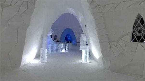 Lappföldi jéghotel
